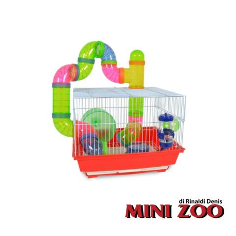 HAMSTER CAGE WITH TUBES
